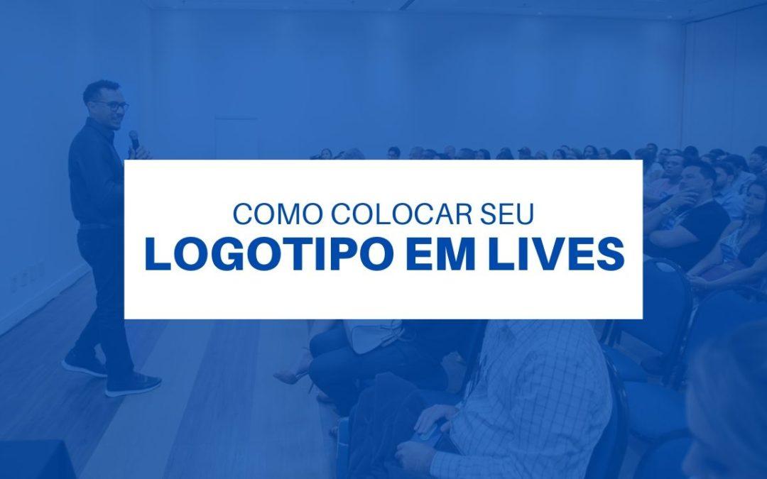 Colocando uma marca d'água na live e tema do facebook