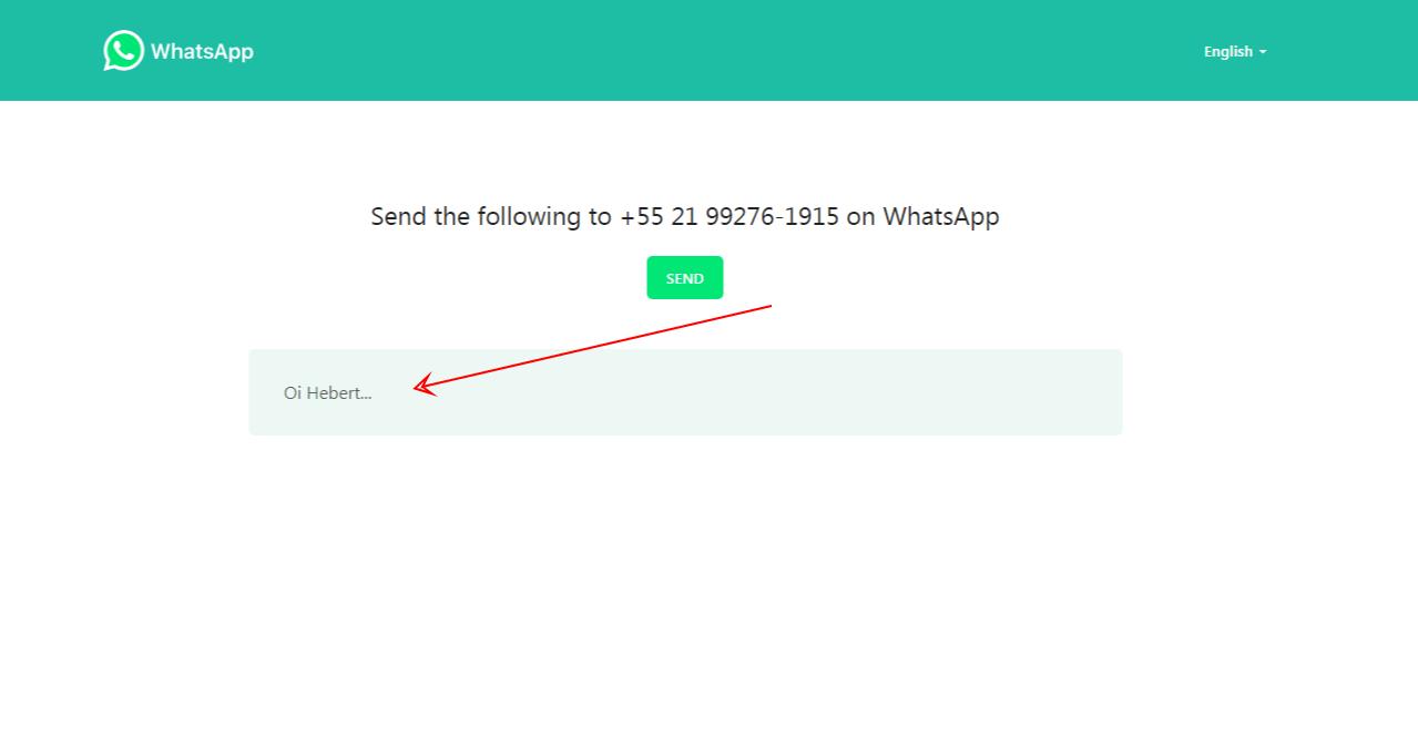 Criar Link para WhatsApp