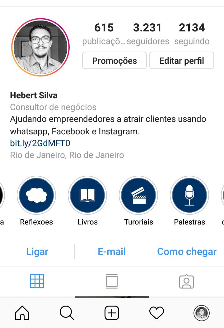Capa para Destaques do Instagram